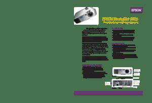 Epson Powerlite 810p Specifications