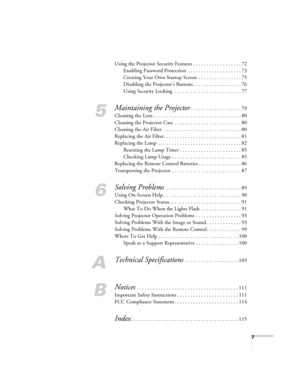 Epson Projector Ex71 User Manual
