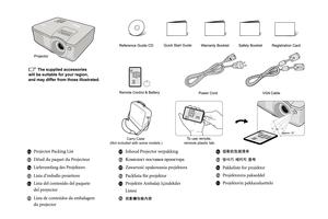 InFocus In104 Quickstart Manual