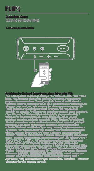 JBL Flip 3 Owners Manual