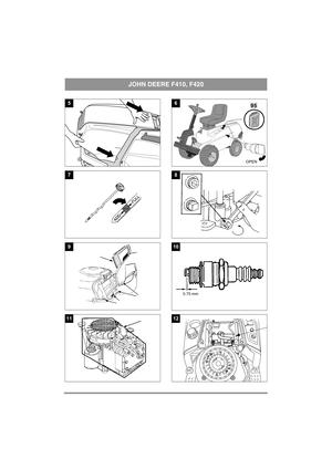 John Deere Lawn Mower F410, F420 Instruction Manual