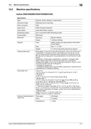 Konica Minolta bizhub C552 User Manual
