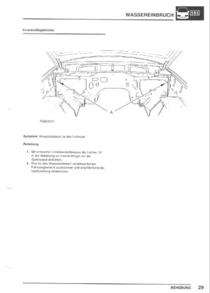 Land Rover Discovery Water Ingress Wassereinbruchsbuch 3