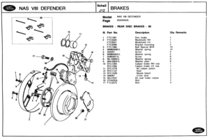 Land Rover Defender 90 110 Nas Parts Catalogue Rover Manual