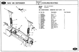 Land Rover Defender 90 110 Nas Parts Catalogue Rover Manual