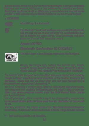Alcatel OneTouch Alcatel IDOL4S User Manual