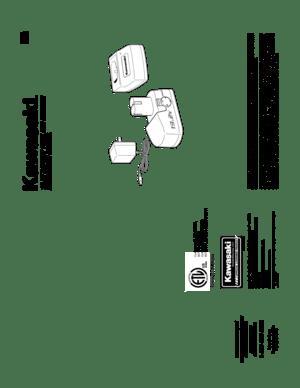 AllTrade Kawasaki 192V Battery And Charger Kit 840639 User