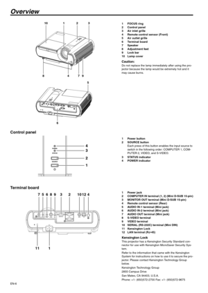 Mitsubishi Xd221u-St Data Projector User Manual