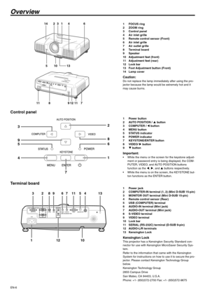 Mitsubishi Xd510u Data Projector User Manual