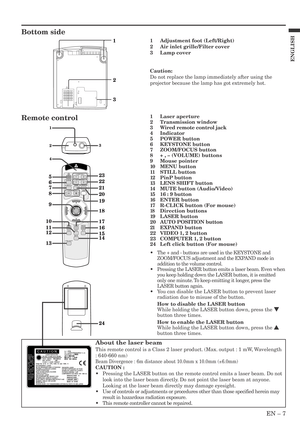 Mitsubishi Xl5980u Lcd Projector User Manual