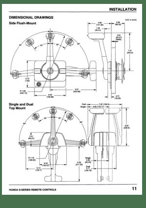honda marine s series remote control setup bf20 bf25 bf30