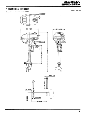 honda outboard workshop and repair bf20 bf2a User Manual