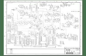 Nintendo Radar Scope Schematics Sheets Manual