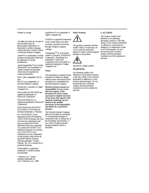 HP DesignJet 1055cm User Manual