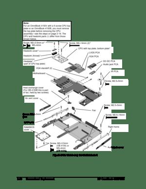 HP Omnibook 4100 4150 Service Manual