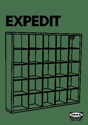 IKEA Expedit 5x5 Manual