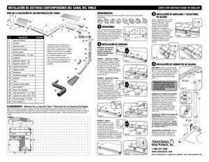 Amerimax Installing Contemporary Vinyl Gutter Systems