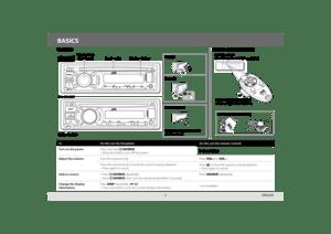 JVC Kdr740bt Owners Manual