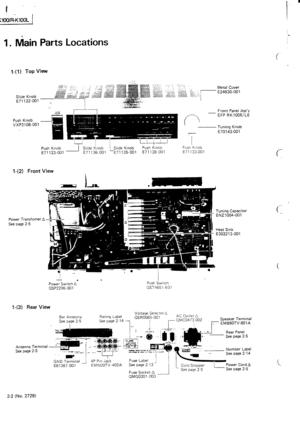 JVC R-k100 Service Manual