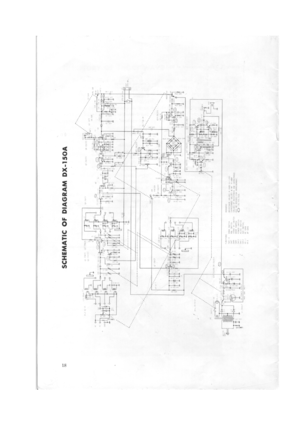 Realistic DX-150A Reciever Owners Manual