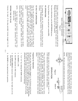 Realistic DX-160 Shortwave Radio Owners Manual