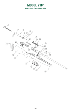 Remington 700, 710 Bolt Action Instruction Manual
