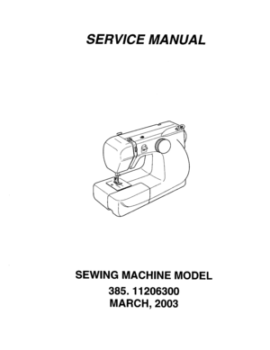Kenmore 8 Sewing Owners Manual