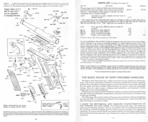 Ruger Mark II Pistol Instruction Manual