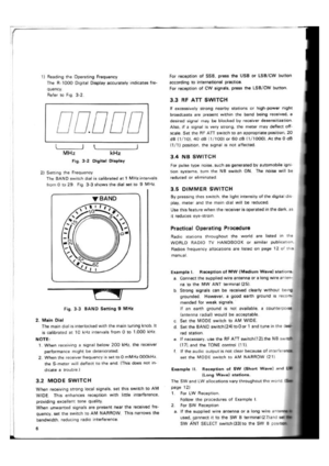 Kenwood R-1000 Communications Receiver Instruction Manual