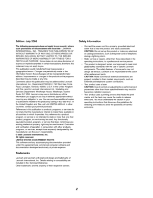 Lexmark E120n User Manual