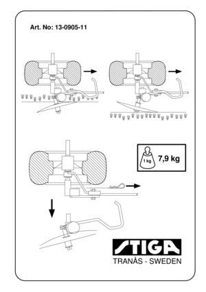 Stiga EDGE CUTTER 13 0905 11 French Version Manual