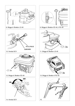 Stiga Lawn Mower Turbo French Version Manual