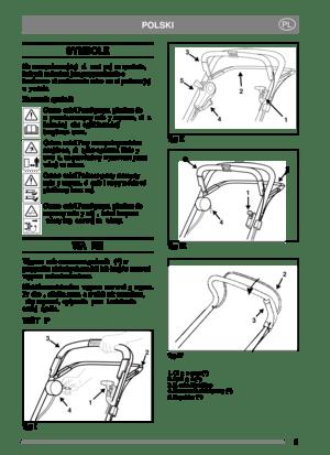 Stiga Lawn Mower 8211 0208 10 Operators Manual Polish Version