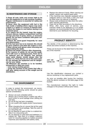 Lawn Mower Stiga Dino 47 Instruction Manual