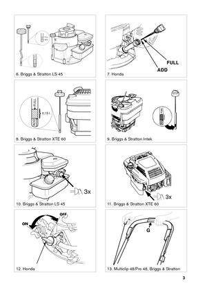 Lawn Mower 8211 0224 10 Stiga Multiclip 48 51S Pro48