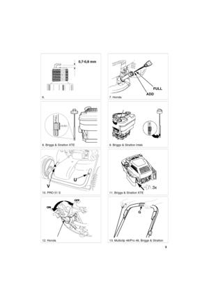 Lawn Mower 8211 0224 11 Stiga Multiclip 48 51S Pro48