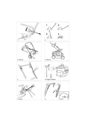 Lawn Mower 8211 0223 10 Stiga Multiclip 46 EURO Pro 46