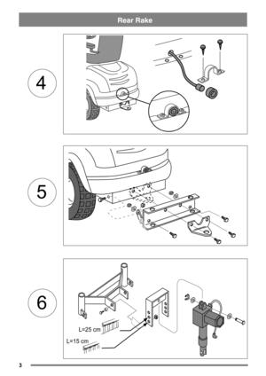 Stiga Read Rake Installation Guide