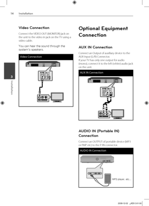LG Ht355sd Owners Manual