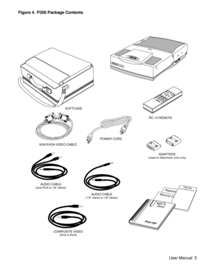 Telex Projector Firefly P350 User Manual