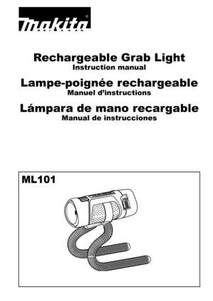 Makita 108V LiIon LED Flashlight User Manual