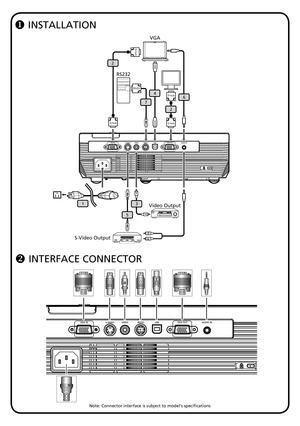 Acer Projector X1160 Quickstart Guide