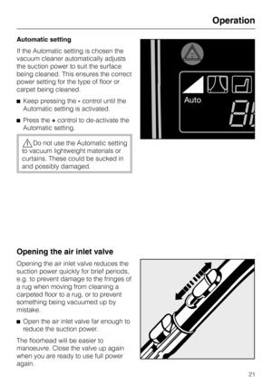 Miele S 711 Manual