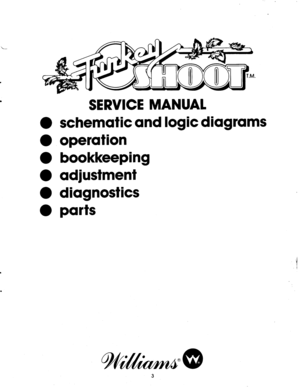 Williams Turkey Shoot Rev A Service Manual