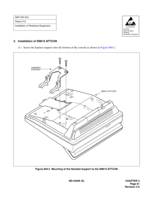 NEC Neax 2000 Ivs Installation Procedure Manual