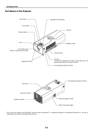 NEC Lt170 Portable Projector Users Manual