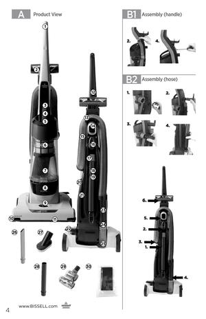 Bisell Powertrak 2400 1491E User Manual