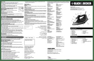 Black and Decker IR08X User Manual