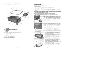 Black and Decker 12 Electric Skillet SKG110 User Manual