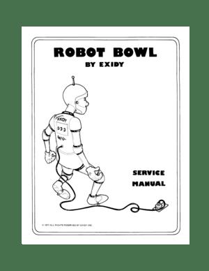 Exidy Robot Bowl Service Manual